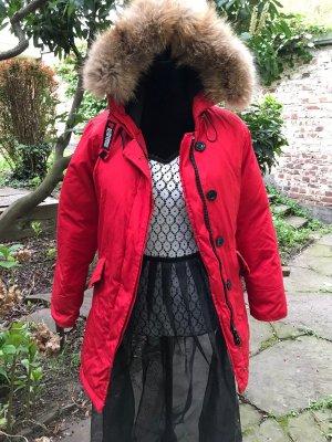 Woolrich Manteau d'hiver rouge-rouge foncé