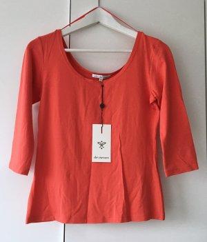 Super schönes 3/4 Arm Shirt orange von Ellen Eisemann Gr. S Neu mit Etikett