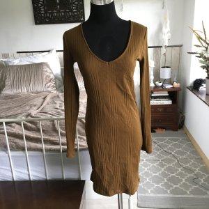 Super schönes cognacfarbenes Kleid