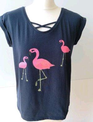 Super schönes Flamingo Shirt von edc by Esprit Gr. S