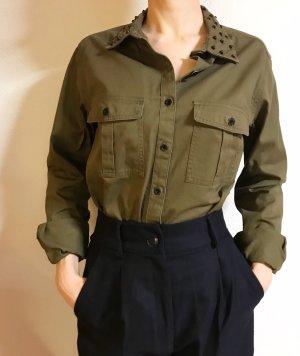 Super schönes Hemd/ Bluse mit Nietenkragen