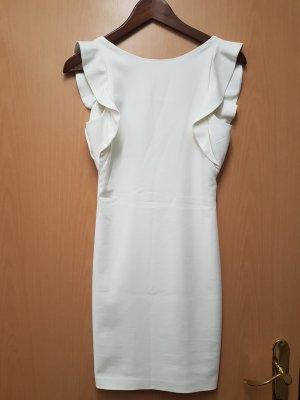 Zara Robe de cocktail blanc