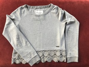 Super schönes Sweatshirt mit Häkelspitze von Abercrombie & Fitch