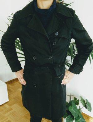 Super schwarze Trenchcoat von Topshop