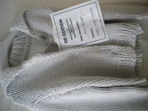 Super seltern Maison Martin Margiela Cardigan for H&M Re-Edition von 1993/94