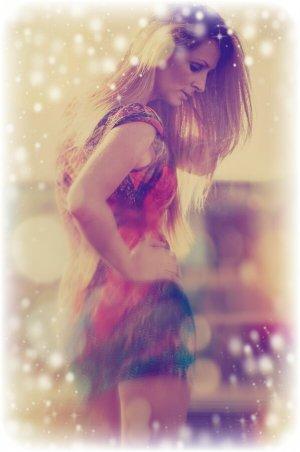Miss Sixty Midi Dress multicolored