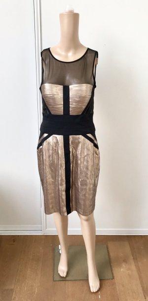 BCBG Maxazria Sequin Dress multicolored polyester
