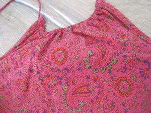 Super sexy Pinkes Mini-Stretchkleid mit Paisley-Muster von Ralph Lauren!