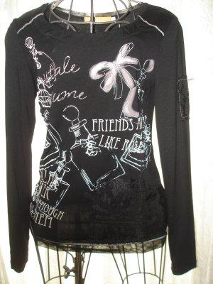 Super Shirt schwarz von BiBA Gr. XS (Gr. 38) ***neu***