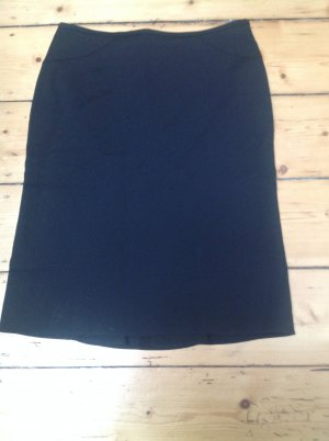 Armani Godet Skirt black mixture fibre