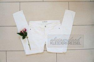 Super Skinny Abercrombie Jeans Weiß Gr 6S