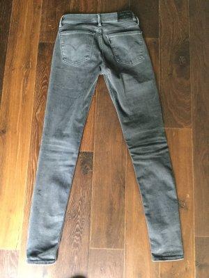 Super Skinny Jeans Levi's 710 in grau