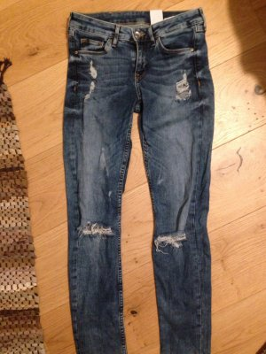 Super skinny Jeans von h&m