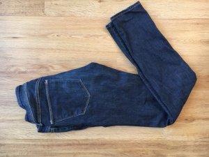 Super skinny low waist Jeans h&m dunkelblau denim Hose 26 32