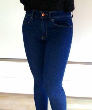 Super Skinny Regular Jeans in Dunkelblau