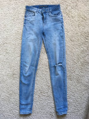 Super Skinny Regular Waist Jeans (36)