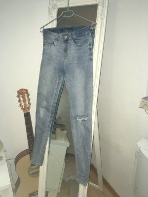 Super Skinny Regular Waist Jeans (36)