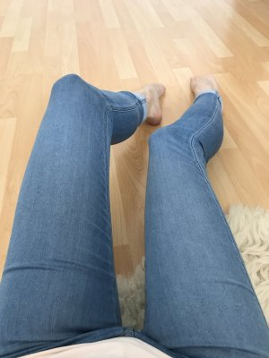 Super Skinny Soft Feather Low Waist Jeggings W 25 H&M