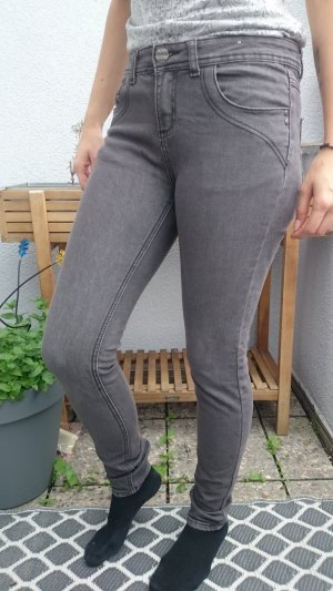 Denim Co. Hoge taille broek veelkleurig