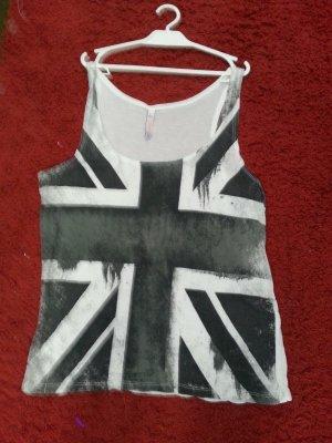 FB Sister Basic topje wit-zwart