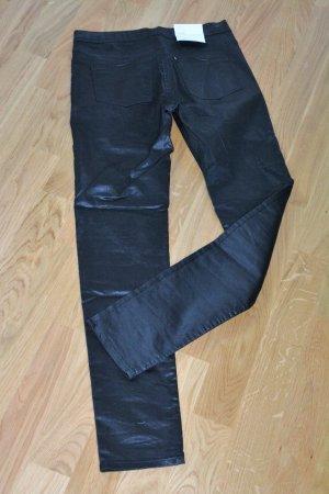 H&M Jegging noir tissu mixte