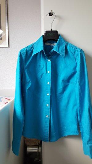 Super stylische blaue Tommy Hilfiger Bluse in Größe 36