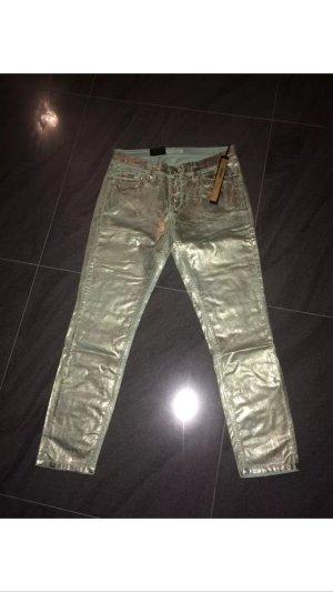 Super stylische Hose von DEYK by Brax. Größe 28 mintgrün neu mit Etikett