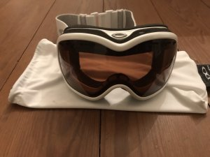 Oakley Sunglasses white-silver-colored