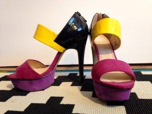 Escarpins multicolore