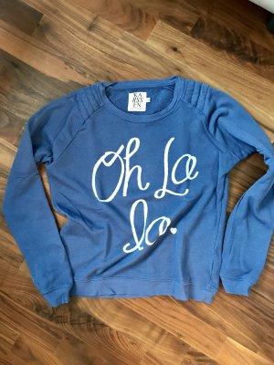Super stylischer Blogger Pulli von ZOE KARSSEN in blau