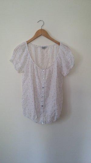 Super süße Bluse von C&A Clockhouse, leicht transparent, Gr. M
