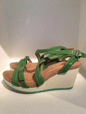 super süße Fabulous Fabs Wedges grasgrün / NEU