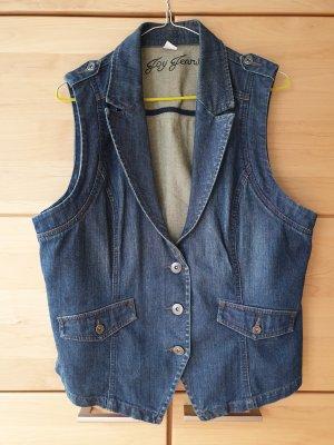 Super süße Jeansweste, Joy Jeans, tailliert, Denim, Stretch, Gr. 46 *wie neu*
