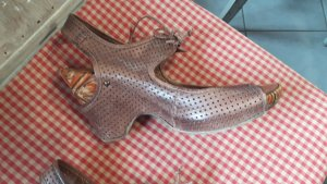 Super süße Plateau Sandalette neuwertig Designerschuh