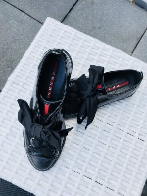 Super süße Prada Sneaker 36 schwarz