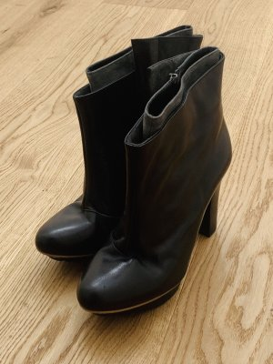 Pepe Castell Platform Booties grey-black
