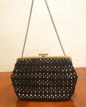 Super süße Vintagetasche mit goldenem Verschluß