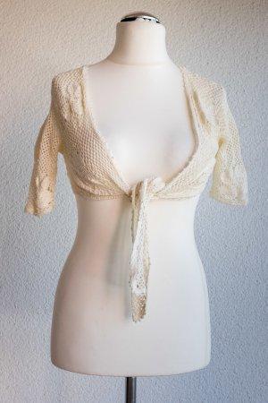 Bolero lavorato a maglia multicolore Cotone