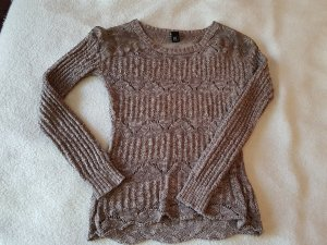 BC Knitted Sweater grey brown-brown