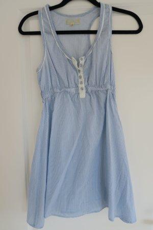 super süßes Babydoll-Kleid in blau-weiss gestreift Gr. 36
