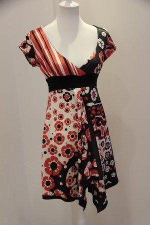 Super süßes Kleid von Imperial Made in Italy im Muster und Materialmix, Größe M