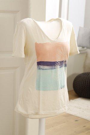 Roxy V-Neck Shirt natural white