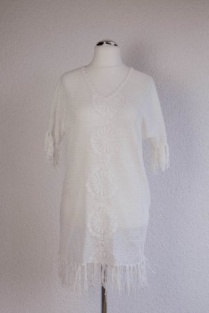 Super Süßes Strandkleidchen Neu mit Etikett Violet Skye Gr. 8 36/38 S/M Weiß