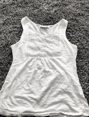 Yessica Camisa acanalada blanco