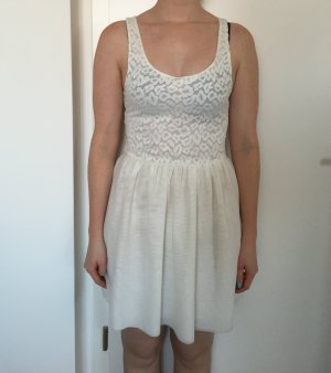 Super süßes weißes Kleid