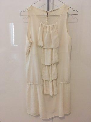 Super süßes weißes Seidenkleid