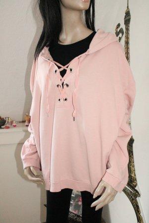 H&M Hooded Sweatshirt light pink-pink