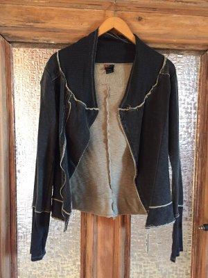 Diesel Shirt Jacket dark grey cotton