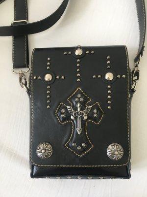 Turn Bag black-silver-colored