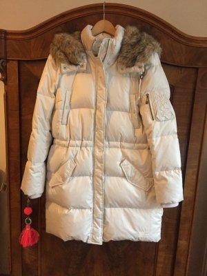 Super warmer Parka Daunen Daunenparka Winterjacke weiss Odd Molly Gr. 2 38